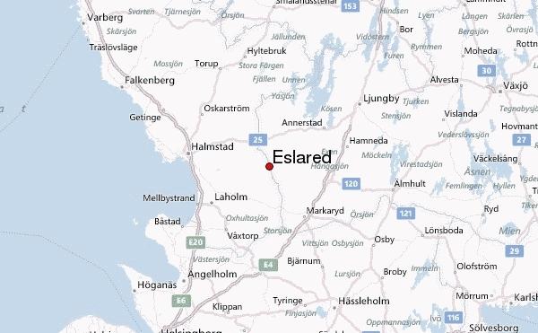 Hitta till Eslared